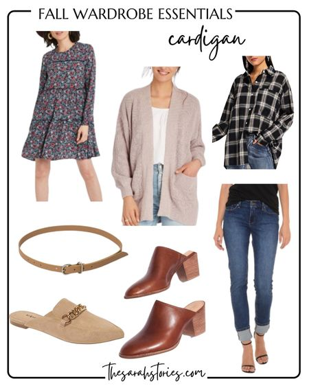 FALL ESSENTIALS: CARDIGAN // Fall calls for layers, simple as that!   pocket cardigan (tts) styled a couple ways!   #LTKunder50 #LTKSeasonal #LTKstyletip
