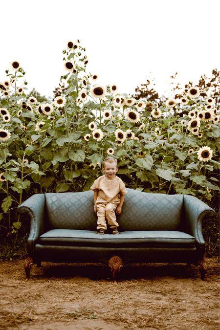 We love sunflower fields!   #LTKkids #LTKSeasonal
