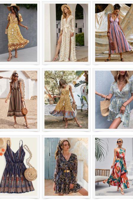 SHEIN Boho Dresses Part 2 http://liketk.it/3dGK0 #liketkit @liketoknow.it