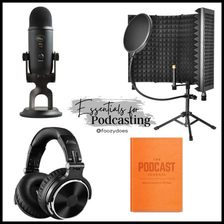 So you want to get into podcasting 🎙 here are the essentials to get you started!   #LTKunder100 #LTKunder50