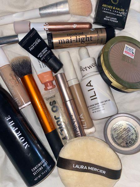 Glowy pinky makeup look  #LTKbeauty #LTKunder50 #LTKsalealert