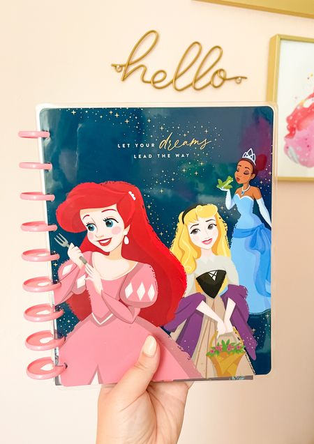 Disney planner notebook organization! These planners are interchangeable to notebooks, and can be accessorized with sticker packs, etc! If you're looks for new ways to stay organized, this is my Andy favorite!   #LTKbacktoschool #LTKfamily #LTKhome