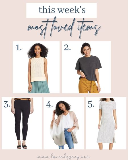This weeks top sellers are in! You all are loving all thing target!   #LTKunder100 #LTKstyletip #LTKunder50