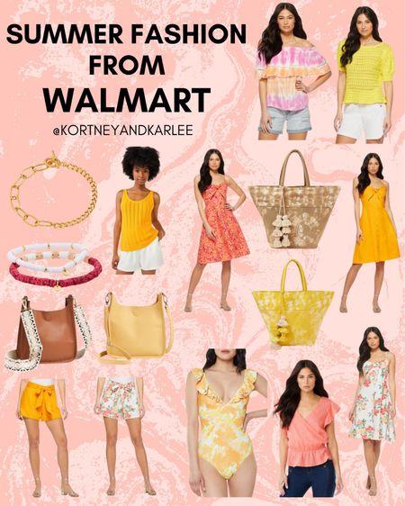 Summer Fashion from Walmart!  Walmart finds | walmart beauty | walmart home finds | walmart self care | walmart beauty favorites | walmart fashion favorites | walmart must haves | walmart best sellers | Walmart summer favorites | summer favorites | Walmart summer essentials | Walmart summer finds | summer essentials | summer must haves | Walmart summer must haves | walmart swim | walmart swimsuits | Walmart shoes | Walmart sandals | Walmart bag | Walmart beach bag | Walmart dress | Walmart shorts | Walmart top | Kortney and Karlee | #kortneyandkarlee #LTKunder50 #LTKunder100 #LTKsalealert #LTKstyletip #LTKshoecrush #LTKSeasonal #LTKtravel #LTKswim #LTKbeauty #LTKhome @liketoknow.it #liketkit http://liketk.it/3ksLL