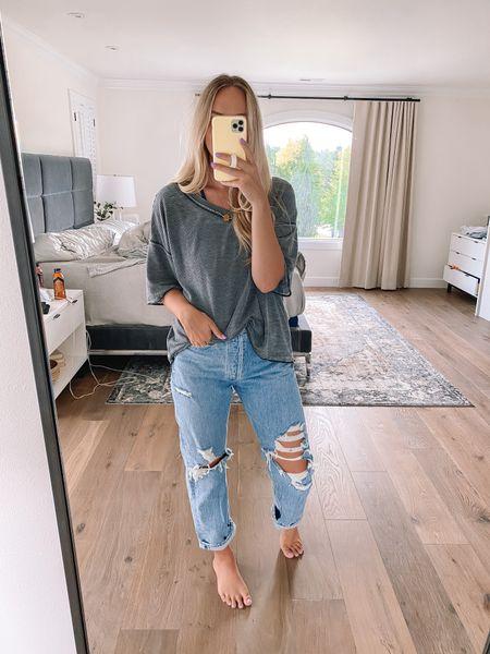 Wearing a medium in top & 28 in jeans!