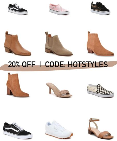 20% OFF with code HOTSTYLES. Back to school shoes. FREE ship over $35!     #LTKstyletip #LTKshoecrush #LTKunder50