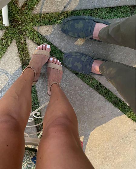 Camo men's loafers women's nude heels I love http://liketk.it/3hXUD #liketkit @liketoknow.it #LTKsalealert #LTKshoecrush #LTKunder100