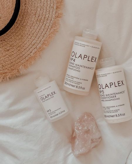 If you need reparative hair care, olaplex is IT. Seriously these products are so hydrating and actually work to repair the hair. These saved my hair through going blonde and even after when I dyed my hair back dark - minimal damage! #LTKbeauty #LTKunder50 #LTKsalealert #liketkit @liketoknow.it http://liketk.it/38IvZ