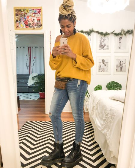 Doc Martens trend for the Fall and Winter. Make sure you order them 2 sizes smaller than what you normally wear. They run 2 sizes to small.  http://liketk.it/327AK #liketkit @liketoknow.it