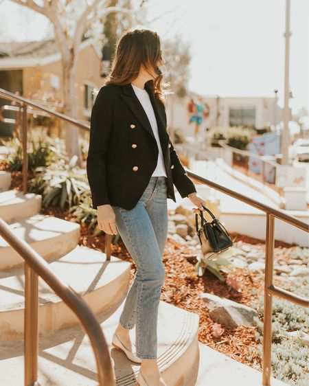 If you've been here before, you know blazers are my jam. They elevate a simple tee and ground a dress. I probably wear one every other day at least. This one, I have in three colors and it is already under $90 but currently on sale. ••• follow me in the free @liketoknow.it app to shop my top sale picks and my outfit here. {get the app, sign up, and search for my two accounts. OR, just click the link in my bio. No sign up or in necessary!} I've also linked via @liketoknow.it on @royalistloyalist some Kate Middleton style picks, including black Duchess gowns, colors of dresses that she has worn that reminded me of her and coats! She loves a great coat.... and a dress with a sleeve. http://liketk.it/2AcXn #liketkit