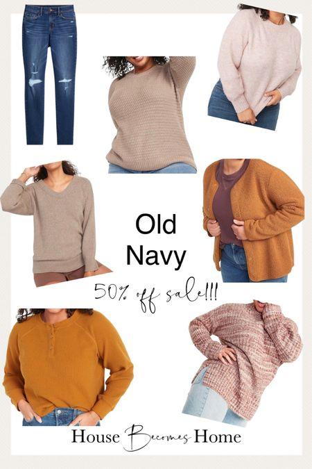 Old Navy 50% off sale!!! Ends today   #LTKsalealert #LTKfamily #LTKunder50