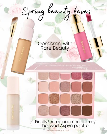 I've been looking for a long time for a replacement for my Tarte Aspyn Ovard palette and FINALLY Tarte created this Juicy palette. Rosy neutrals with a light vanilla scent. They blend beautifully and last all day. Aslo obsessed with my Rare Beauty purchases. The tiniest dot of blush lasts all day with a soft dewy glow. http://liketk.it/3fc1e #liketkit @liketoknow.it #LTKunder50 #LTKbeauty Download the LIKEtoKNOW.it shopping app to shop this pic via screenshot