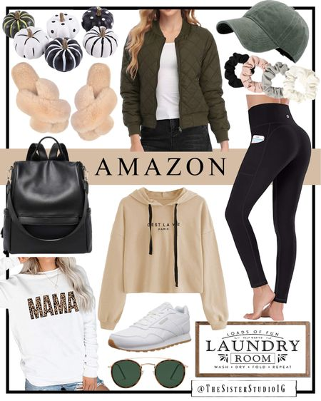 Amazon finds! Home decor and casual outfit options.
