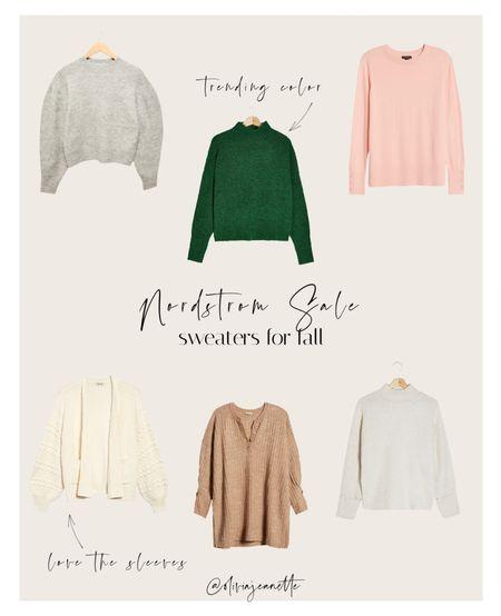 Sweaters ON SALE at Nordstrom! 🤎🍂 make sure to get them before they're sold out!   #LTKSeasonal #LTKunder50 #LTKsalealert