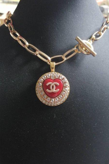 Here's another stunning repurposed designer necklace! So pretty and it's under $60!  #LTKunder50 #LTKunder100 #LTKstyletip