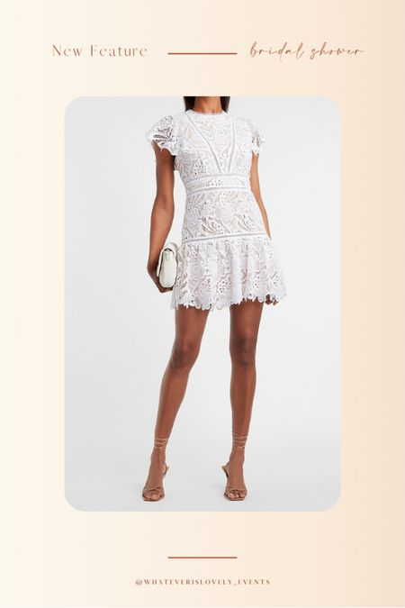We are loving this dress from Express for all your bridal functions!   Think: summer dress, summer dresses, summer dress midi, summer dress outfit, summer dress white, white summer dress, white dress outfit, bridal shower dress, bridal dress, bridal luncheon dress, engagement party, engagement shower, bachelorette party, bride outfit, bride, wedding    #LTKwedding #LTKstyletip #LTKunder100