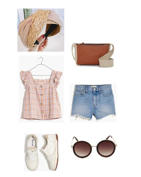 My favorite casual outfit for spring and summer. These Madewell pieces are on repeat!  #LTKitbag #LTKSpringSale #LTKshoecrush