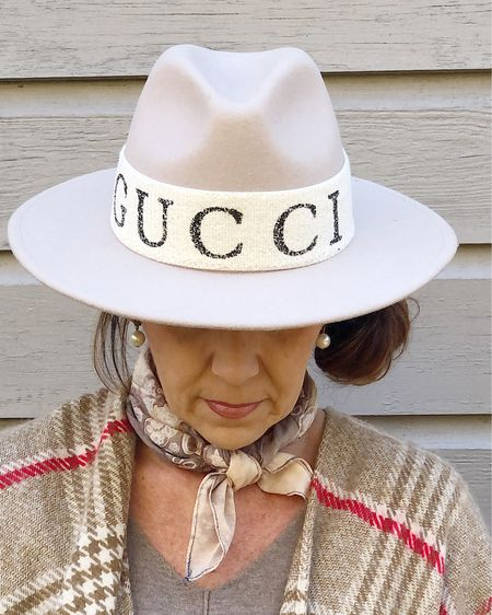 . Have you ever tried a stretchy headband for your hats?  I just love this Gucci inspired headband I got recently.   I ordered this off-white one and it pairs  perfectly with my ivory Gigi Pip hat!  I'm going to order the black one too!  I've linked several options/colors here and I've also linked the real Gucci headband if you prefer the real deal!!   http://liketk.it/30UqV #LTKstyletip #LTKunder50 #LTKunder100 #liketkit    You can instantly shop all of my looks by following me on the LIKEtoKNOW.it shopping app @liketoknow.it   It pairs perfectly with my ivory Gigi Pip hat!