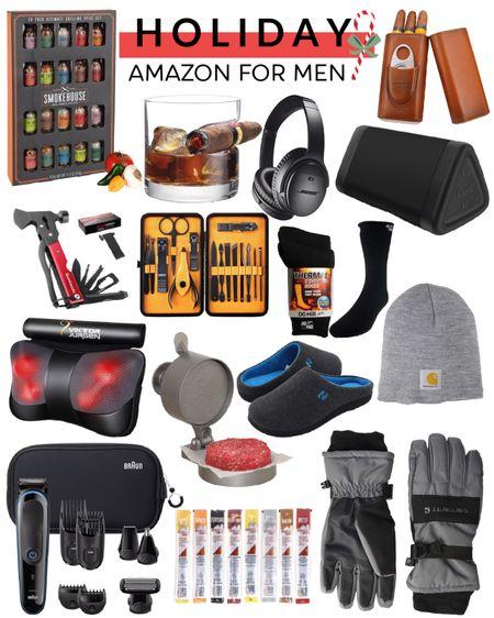 Gift guide for men. Amazon gifts. Christmas Gifts for him. Stocking stuffers. http://liketk.it/30pkI @liketoknow.it #liketkit #LTKunder100 #LTKfamily #LTKmens
