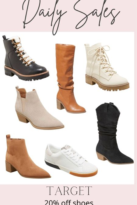 Daily Sales: Target 20% off shoes   #LTKstyletip #LTKSeasonal #LTKshoecrush