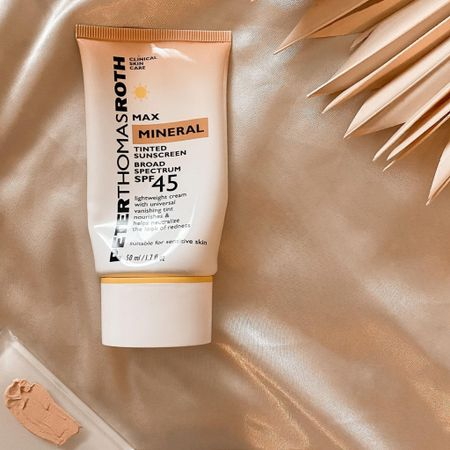 looking for a tinted sunscreen? This Peter Thomas Roth one is wonderful!   #LTKunder50 #LTKbeauty #LTKsalealert