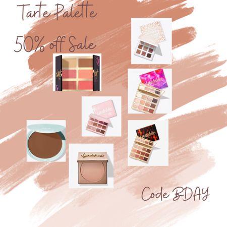 Tarte Pallet 50% off SALE  TODAy only…. Great gift idea…  Code BDAY . Here's my favorites 🌸❤️   #LTKbeauty #LTKsalealert #LTKstyletip
