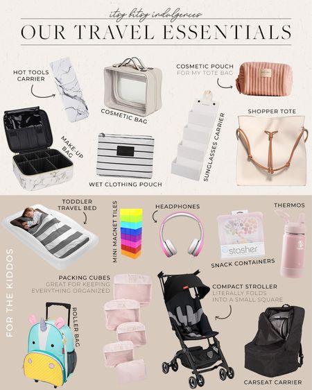 Our travel essentials // explaining why we like each piece on www.itsybitsyindulgences.com  #LTKfamily #LTKtravel