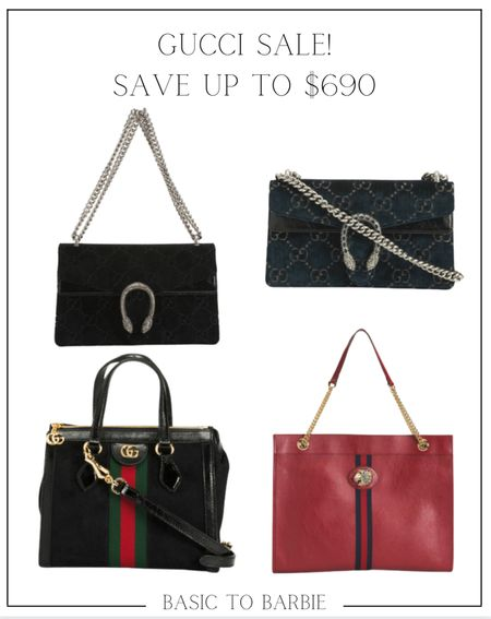 Who doesn't want to save almost $700 on GUCCI???  A few of these are low stock so if you see something you love, don't sit on it.  Happy shopping!      #LTKsalealert #LTKSeasonal #LTKSale
