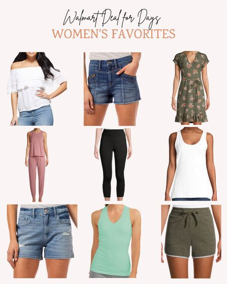 These are the last few hours of the Walmart Deals For Days event. Don't miss out on these women's summer clothing staples. #WalmartFashion  Follow me for more ideas and sales.   Double tap this post to save it for later.   #LTKsalealert #LTKunder50 #LTKSeasonal