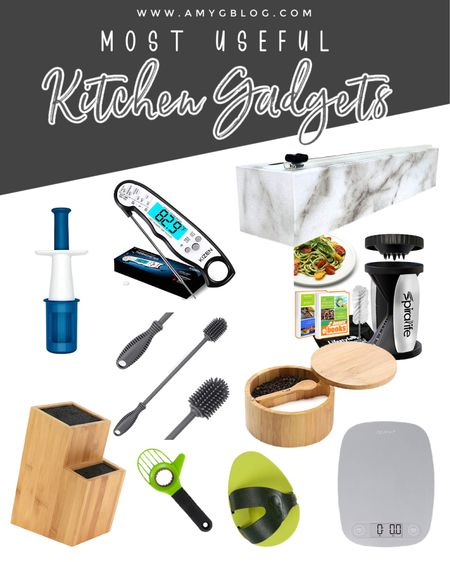 Here's a look at my favorite inexpensive kitchen gadgets! Everything here is low priced and several are on sale! Kitchen tools | Kitchenware | Must have kitchen tools | kitchen sale  #LTKunder50 #LTKsalealert #LTKhome