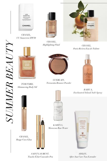 From multi protection sunscreen with SPF50 to shimmering body oil and perfume that captures the stunning scent of the Côté d'Azur, here are the t'en beauty products that will keep you looking relaxed, restored, and radiant for the summer season 🥰   #LTKbeauty