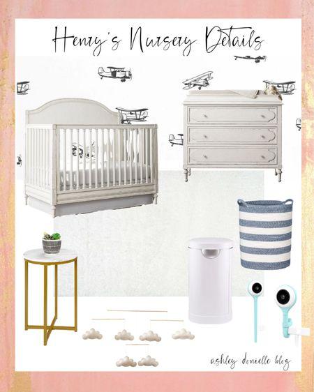 Henry's nursery details! http://liketk.it/3gAKZ #liketkit @liketoknow.it #LTKkids #LTKhome #LTKbaby #nursery #homedecor