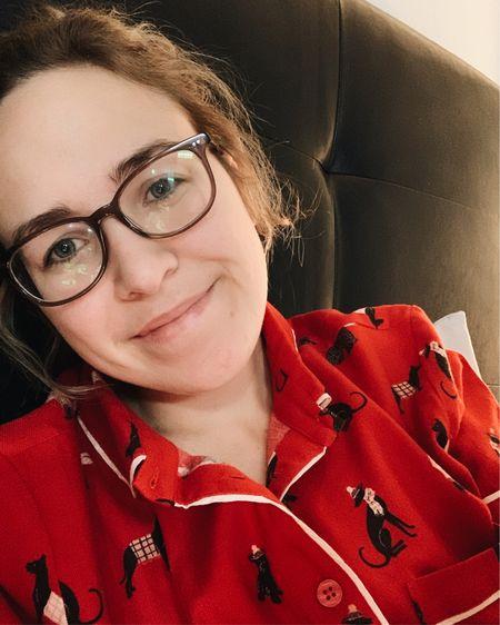 My mom got me the cutest dog pajamas for Christmas! http://liketk.it/34EmK @liketoknow.it #liketkit #LTKunder50 #LTKsalealert #StayHomeWithLTK
