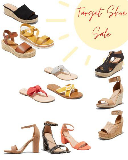 Target shoe sale! Great for spring & summer or as an awesome Mother's Day gift. #LTKmothersday  #LTKsalealert #LTKSeasonal #LTKshoecrush