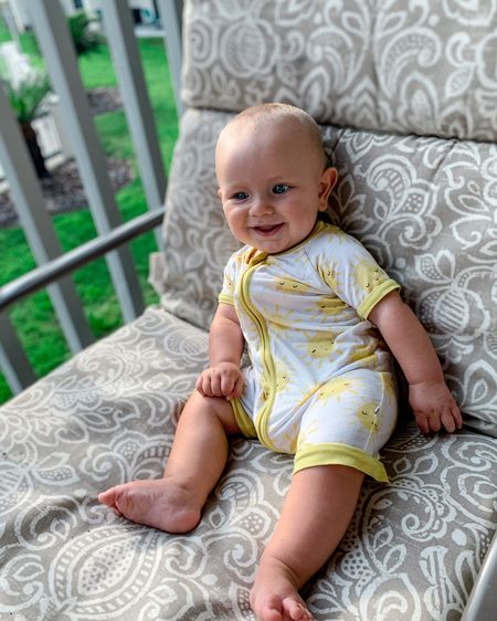 The perfect gender neutral baby romper for summer! Perfect for newborn to 24 months! http://liketk.it/3iwX9 @liketoknow.it #liketkit #LTKbaby #LTKkids #LTKunder50