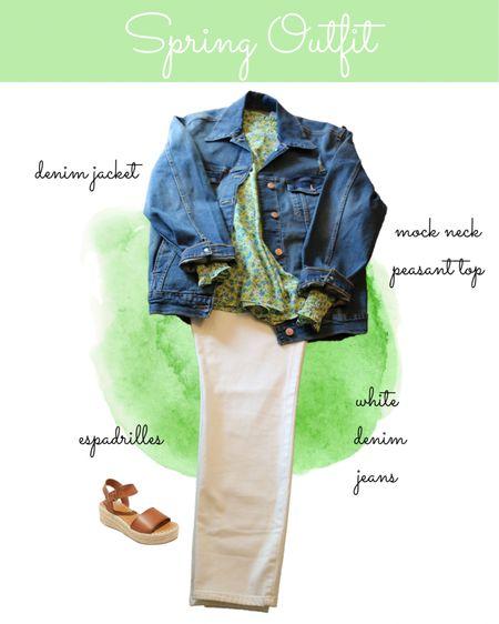 Be inspired by this cute spring outfit🌸  #LTKstyletip #LTKSeasonal #LTKworkwear