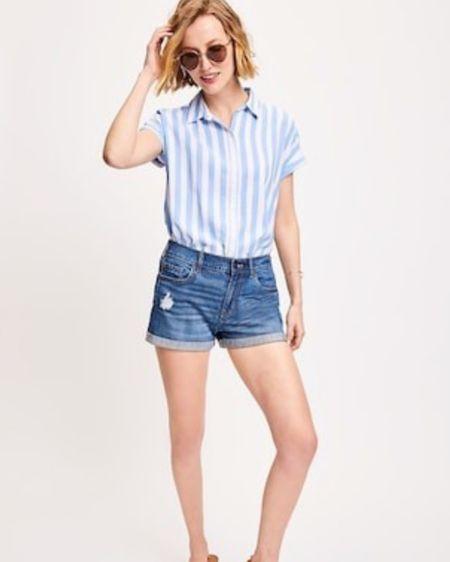 Summer shorts ✨ #summer #summerfashion @liketoknow.it  http://liketk.it/2Rb2M #liketkit