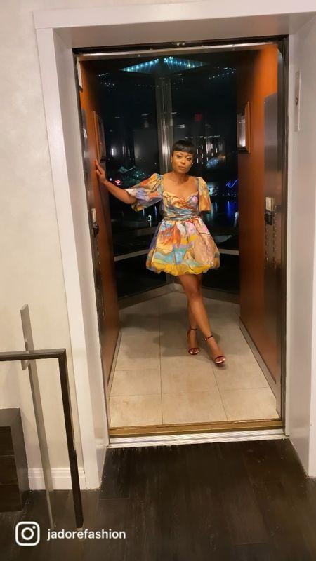 Fun dress - perfect for birthday celebration and wedding event   #LTKwedding #LTKstyletip #LTKSeasonal