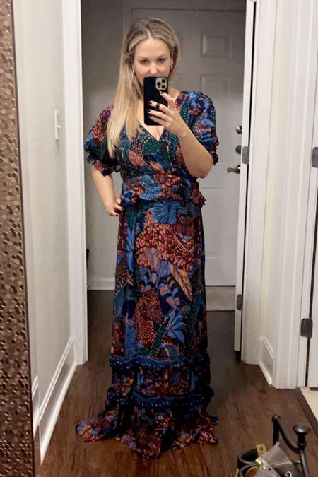 Loving this farm rio dress which is TTS and perfect for wedding season!!    #LTKstyletip #LTKHoliday #LTKwedding