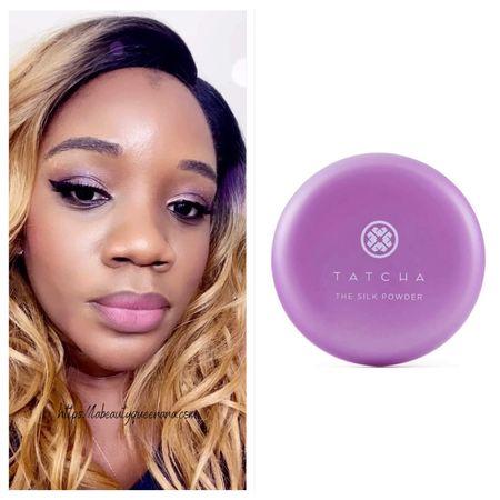 Tatcha The Silk Powder Protective Setting Powder  Best luxury under eye powder  Best finishing powder No flash back 2021  Japanese Makeup   #LTKunder100 #LTKbeauty #LTKunder50
