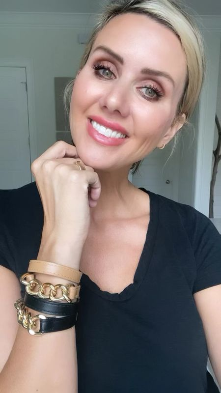 these leather wrap bracelets are awesome // feels very designer to me // only 12$   #LTKstyletip #LTKunder50