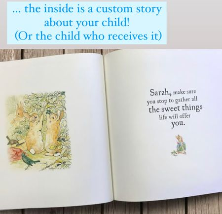 Personalized baby book Custom child book Gifts for kids baby gifts Christmas gift guide   #LTKbaby #LTKkids #LTKGiftGuide