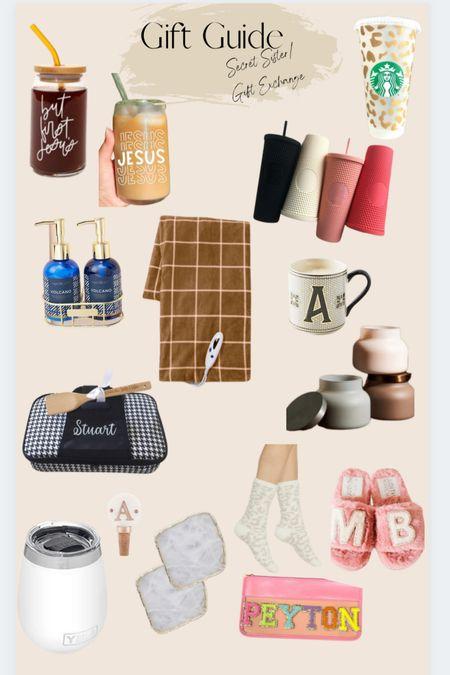 Gift Guide: Secret Sister/ Gift Exchange  #LTKHoliday #LTKSeasonal #LTKGiftGuide