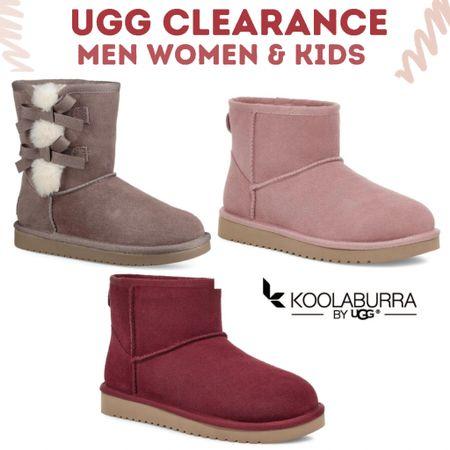 Ugg Sale! Great prices on boots and fuzzy slides. Men women and kids.   #LTKshoecrush #LTKsalealert #LTKmens