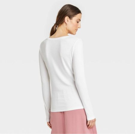 The best long sleeve top for layering! So soft and tts!