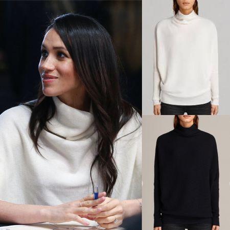 Meghan wearing Ridley sweater   #LTKsalealert