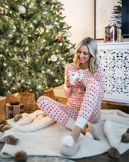 Holiday jammies from @jcrew have been my go-to for several years. Love this new reindeer print and how soft this Henley style is. Fits true to size! I'm wearing a small. http://liketk.it/2Im2C @liketoknow.it #liketkit #LTKholidayathome #LTKsalealert #LTKhome