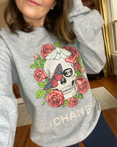 Restock alert 🚨  . . . #designerinspired #skull #alwaysstylishmama #pullover #comfy #cozy #loungewear http://liketk.it/3g31R #liketkit @liketoknow.it