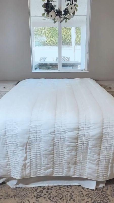 Fall Guest BedRoom Vibes🍂🍃🍂🍃  #guestbedroom #fallbedding #comfybedroom #roomrefresh #buffalocheck #buffaloplaid #potterybarn   #LTKhome #StayHomeWithLTK #LTKFall