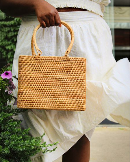 Sharing some of my favorite basket bags here ! #summerbags #basketbag #fashionfinds http://liketk.it/3jx1n #liketkit @liketoknow.it #LTKitbag #LTKunder50
